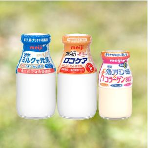 スーパーにはない宅配専用品 乳飲料は「ビン」でお届け